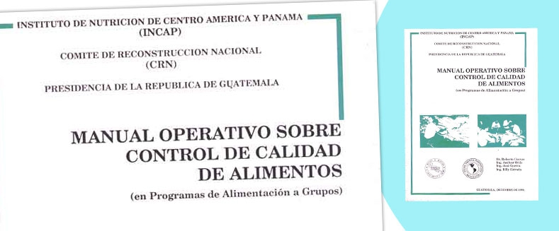 Manual Operativo Sobre Control de Calidad de Alimentos